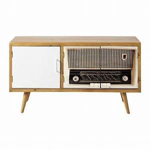 Meuble Tv Vintage : 22 best images about fireplace and tv on pinterest entertainment units modern fireplaces and ~ Teatrodelosmanantiales.com Idées de Décoration