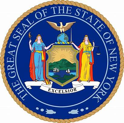 Ny State Seal York Department Start