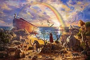 Noah's Ark Paintings & Art Thomas Kinkade Memphis Gallery
