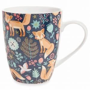 Tasse à Café Maison Du Monde : mug motif renards en porcelaine maisons du monde ~ Teatrodelosmanantiales.com Idées de Décoration