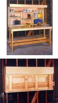 small space workbench ideas garage workbench plans