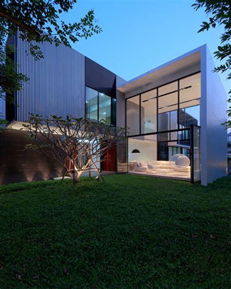 Lshape house design ethiopia : L-Shaped Modern Residence Integrating Traditional Thai House Design - Interior Design, Design ...