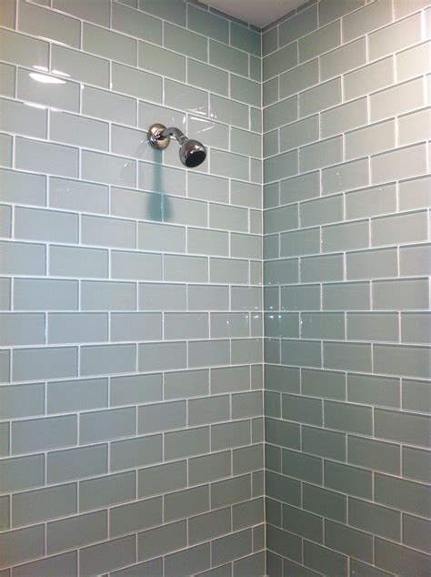 glass subway tile bathroom ideas m g bathroom 2011 alex freddi construction llc
