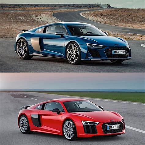 Photo Comparison 2020 Audi R8 Vs 2015 Audi R8
