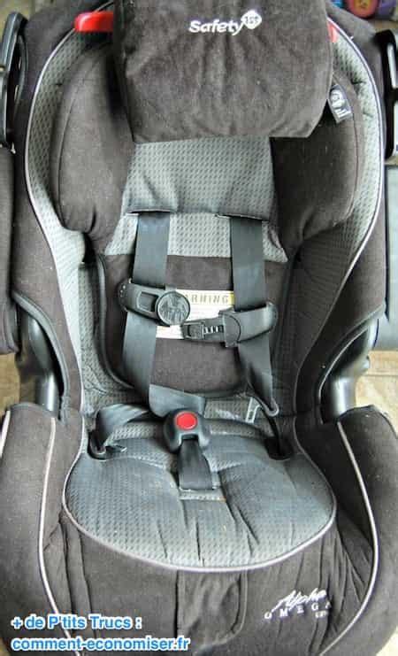 nettoyer siege voiture tissu astuce comment nettoyer un siège auto facilement et rapidement
