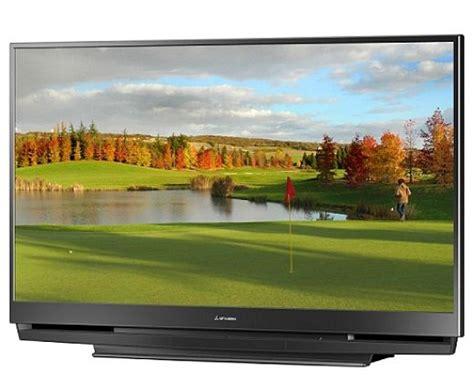 mitsubishi projection tv l mitsubishi 73 inch 1080p dlp tv gets x v color hdmi 1 3