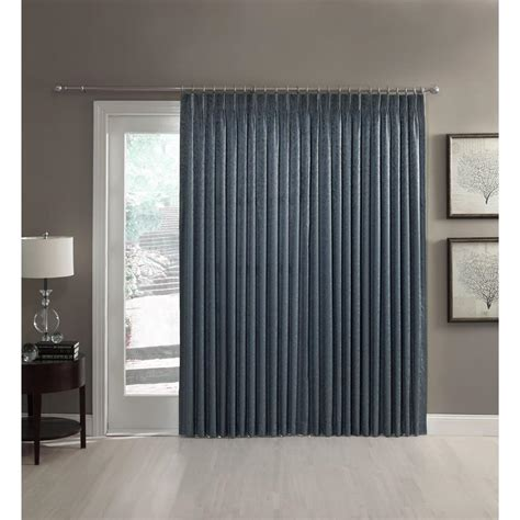 pinch pleated thermal drapes a l ellis dover pinch pleat thermal insulated patio