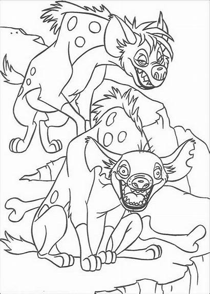 Coloring Lion King Pages Disney