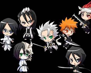 Chibi Bleach Characters by TonyDaher on deviantART