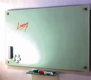 Tableau En Verre : tableau design verre blanc abc diffusion mobiliers d ~ Melissatoandfro.com Idées de Décoration