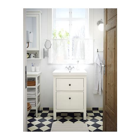 hemnes wash stand with 2 drawers white 60x47x83 cm ikea