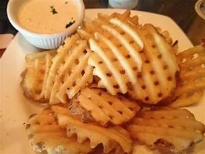 Waffle fries! | Yelp