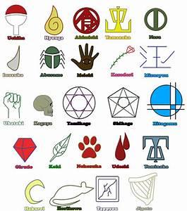 Clan Symbols Naruto | Jeftha | Pinterest