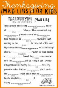 thanksgiving mad libs printable my 39 s suitcase packed with creativity