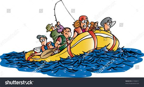 Rafting Boat Clipart by Raft Clipart Free Collection