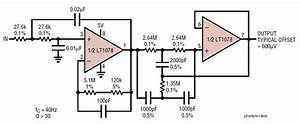 Single Supply  Micropower  Second Order Lowpass Filter
