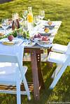 Pop-Up Dinner - Backyard Party Ideas - Simple & Classy outdoor garden party ideas