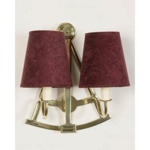 sextant double wall light in antique finish with metal shades