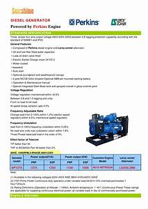 1250 Kva Uk Perkins Gensets With Leroysomer Data Sheet