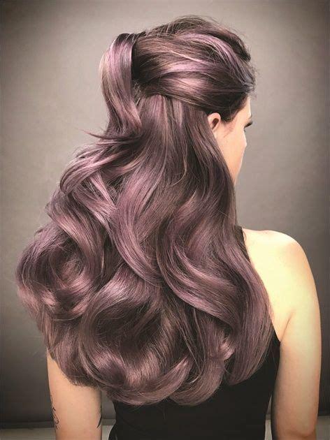 sweet mauve hair color ideas     year