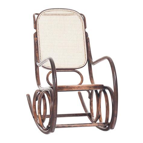 sedia a dondolo legno dondolo sedia a dondolo ton in legno curvato sedile in