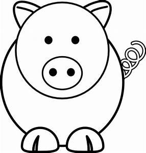 Cartoon Pig Clip Art at Clker.com - vector clip art online ...