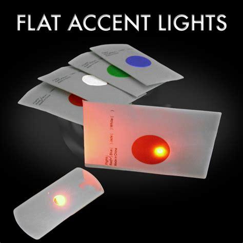 10 pack of led flat leds disc golf lights one color flat