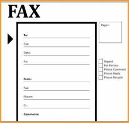 how to fill out a fax cover sheet example