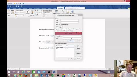 microsoft word fillable form how to create fillable forms in microsoft word 2016
