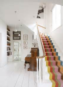 Funky Carpets For Stairs by Striped Stair Carpet What Sam Saw Today
