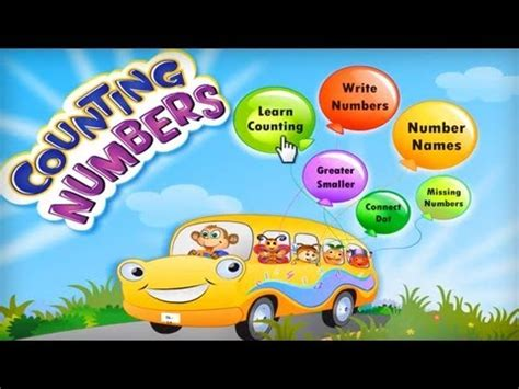 count numbers android app  education game  kids