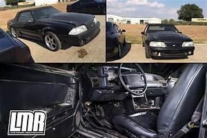 Triple Black Fox Body Mustang Project - LMR.com