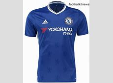 New Chelsea Home Jersey 201617 Adidas CFC Kit 1617