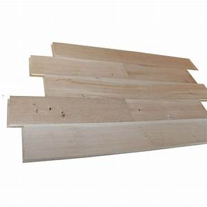parquet chene massif 175 x 20mm rt2n brut ponce With parquet chene massif 20mm