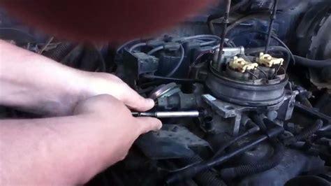 install throttle position sensor   chevy suburban lt