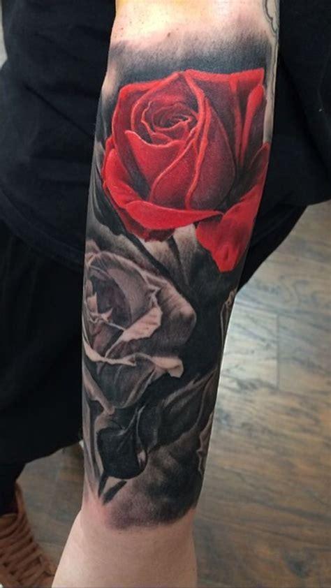 tatuajes de rosas en el brazo top  fotos