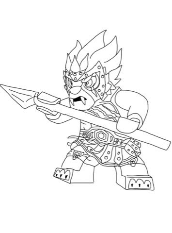 chima coloring pages coloringpages