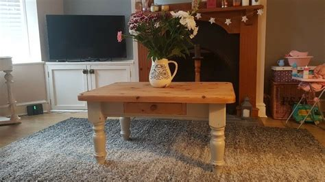 Furniture includes chests, cupboards, armoires, benches, farm tables and bookcases. Solid pine farmhouse coffee table | in Haverhill, Suffolk | Gumtree