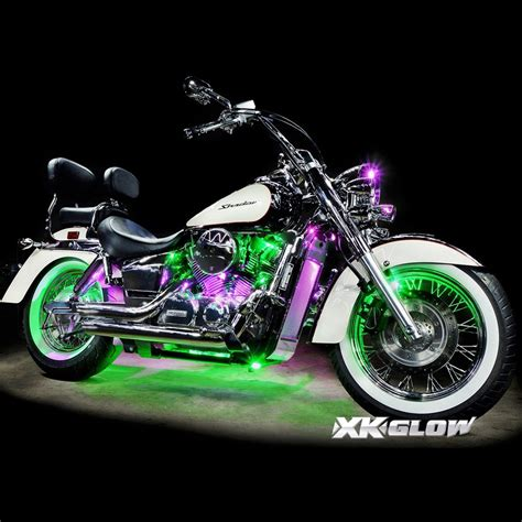 led lights for motorcycles 12 pod ios android app wifi led motorcycle led