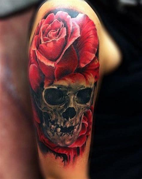 skull  roses tattoos designs ideas  meaning tattoos