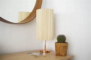 Abat Jour Original : diy cr ez un abat jour original avec des sets de table ~ Melissatoandfro.com Idées de Décoration