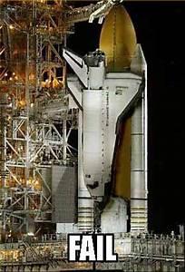 Space Shuttle Fail