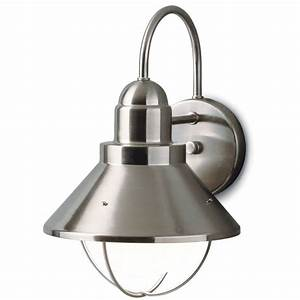 Reasons to install brushed nickel outdoor lights