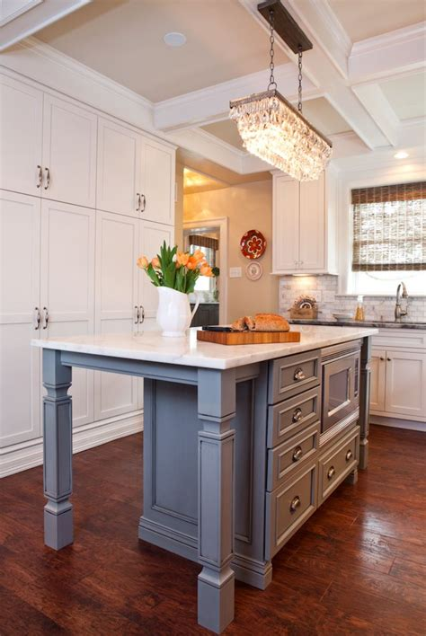17 Best Images About Kitchen Islands Different Color On