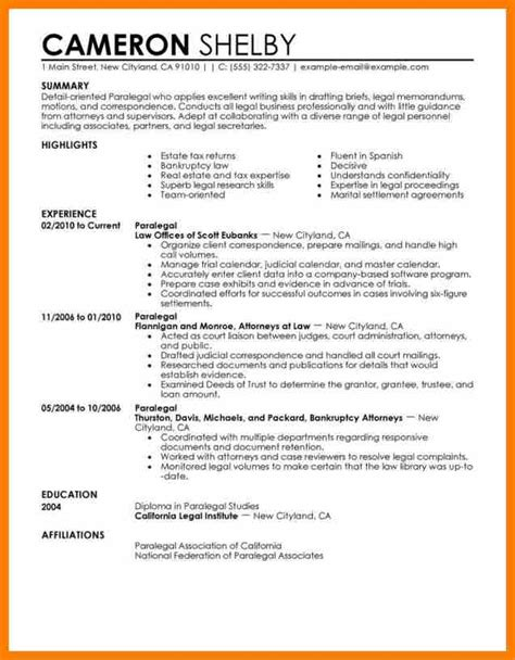 8 what do you put on a resume science resume