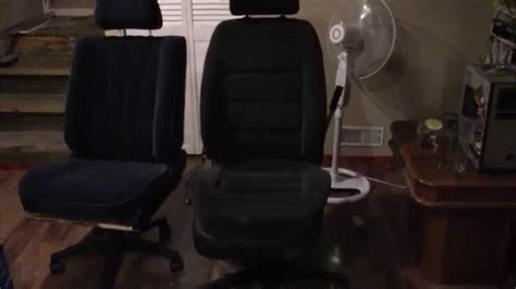 a car seat office chair