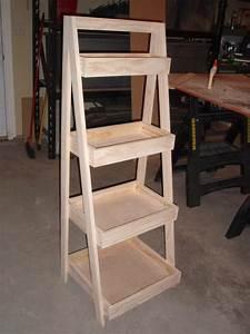 ladder bookshelf plans - 28 images - leaning ladder