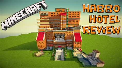 Minecraft  Habbo Hotel Review[hd] Youtube