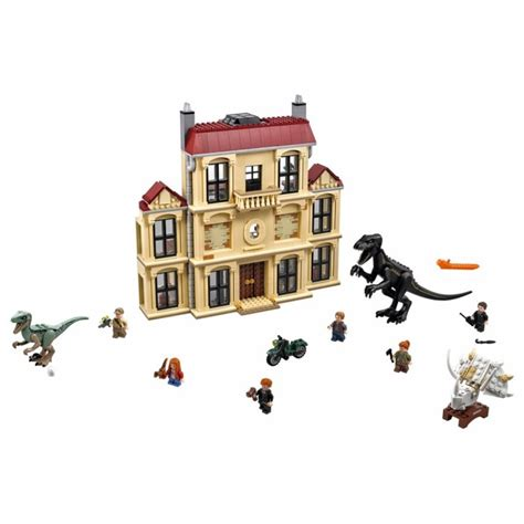 lego indoraptor rampage  lockwood estate set