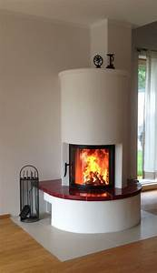 Fireplaces, With, Round, Glass, Are, Always, In, Trend, The, Flame, Play, Is, Almost, From, Almost